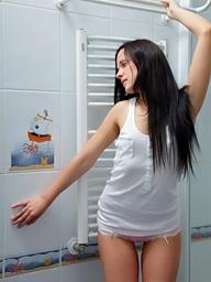 , Gorgeous teen posing..