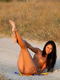 , On Rub-down the Beach