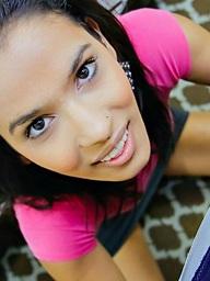 Karmen Bella, Romanian, black haired,..
