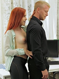 Amarna Miller, Gorgeous redhead..
