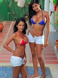 , Karina and Ana are hot..